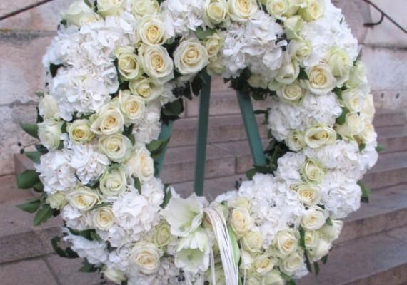 Couronnes deuil La Rochelle Ré Aunis – Pompes funèbres